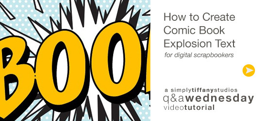 How to Create Comic Book Explosion Text