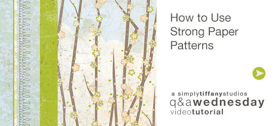 How to Use Strong Paper Patterns