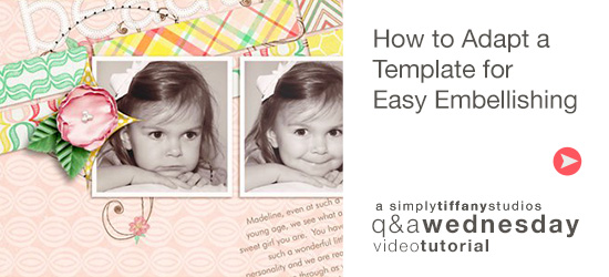 How to Adapt a Template for Easy Embellishing