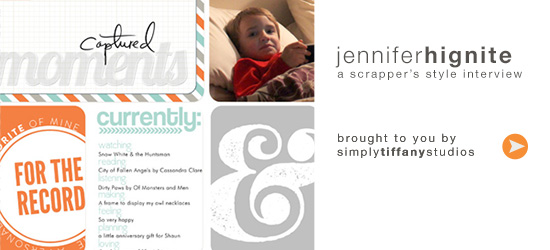 A Scrapper's Style Interview with Jennifer Hignite