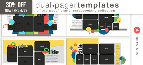 Dual Pager Templates by Simply Tiffany Studios