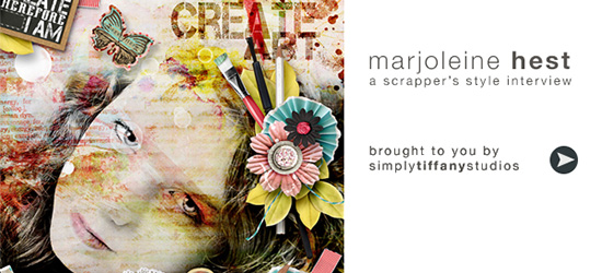 A Scrapper's Style Interview with Marjoleine Hest