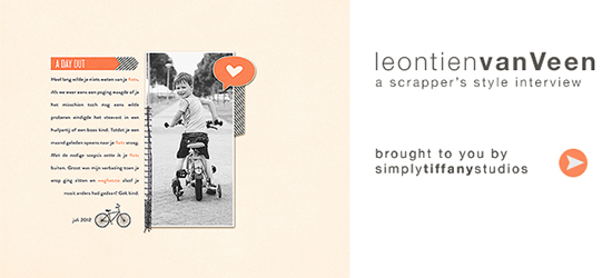 A Scrapper's Style Interview with Leontien van Veen