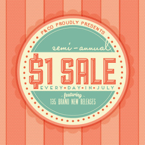 Shop the Semi-Annual $1 Sale at Pixels & Company
