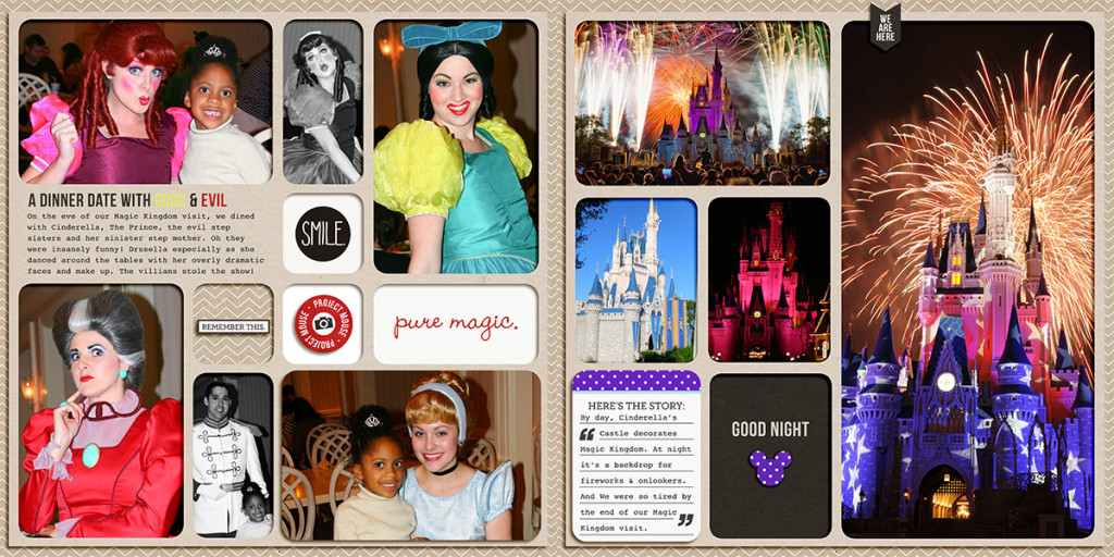 Disney World Vacation Album