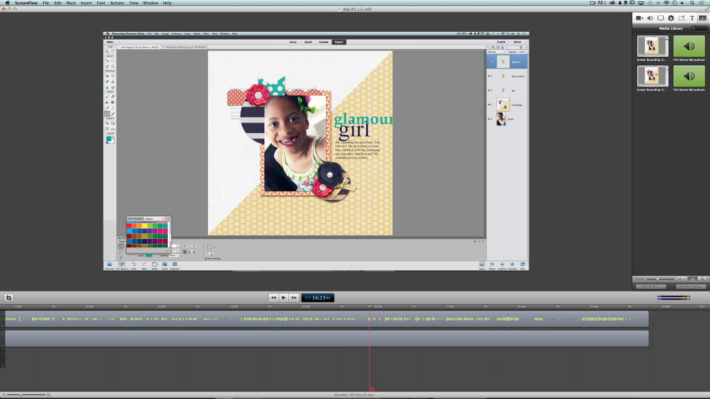 Video Production Screenshot